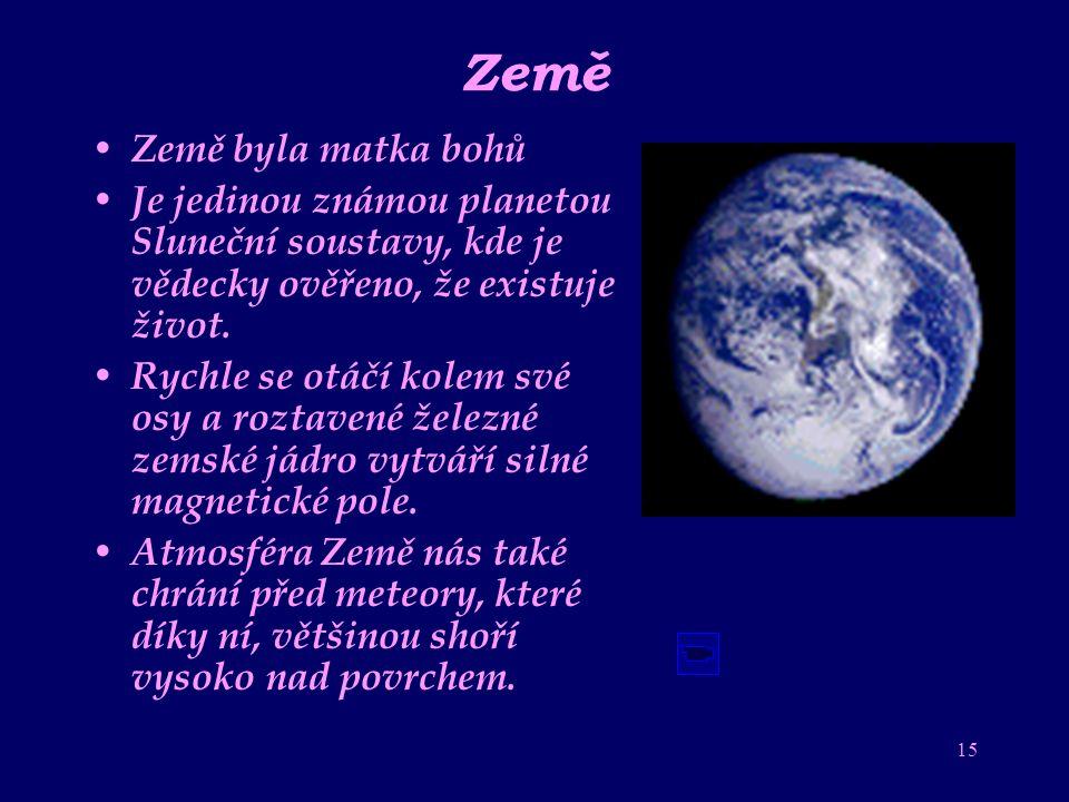 Země Země byla matka bohů