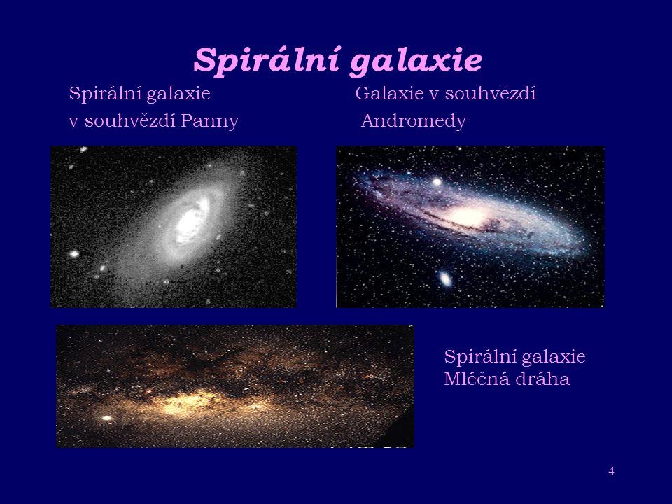 Spirální galaxie Spirální galaxie Galaxie v souhvězdí