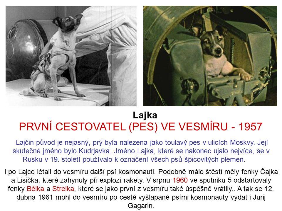PRVNÍ CESTOVATEL (PES) VE VESMÍRU - 1957