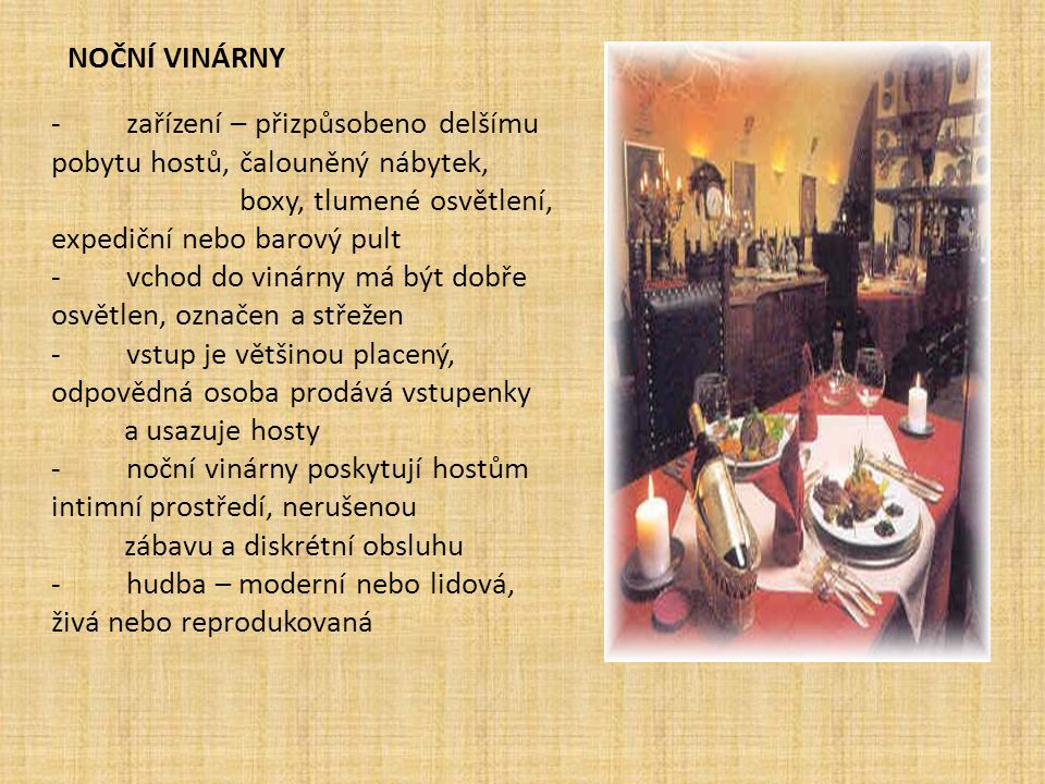 Noční vinárny