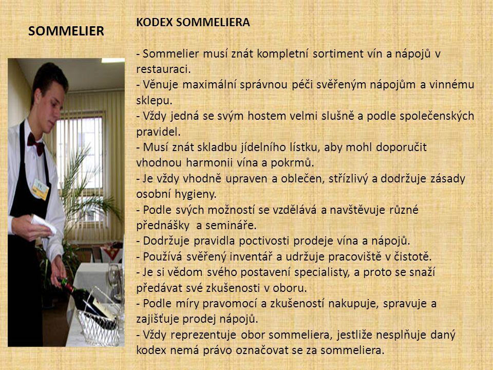 Sommelier KODEX SOMMELIERA