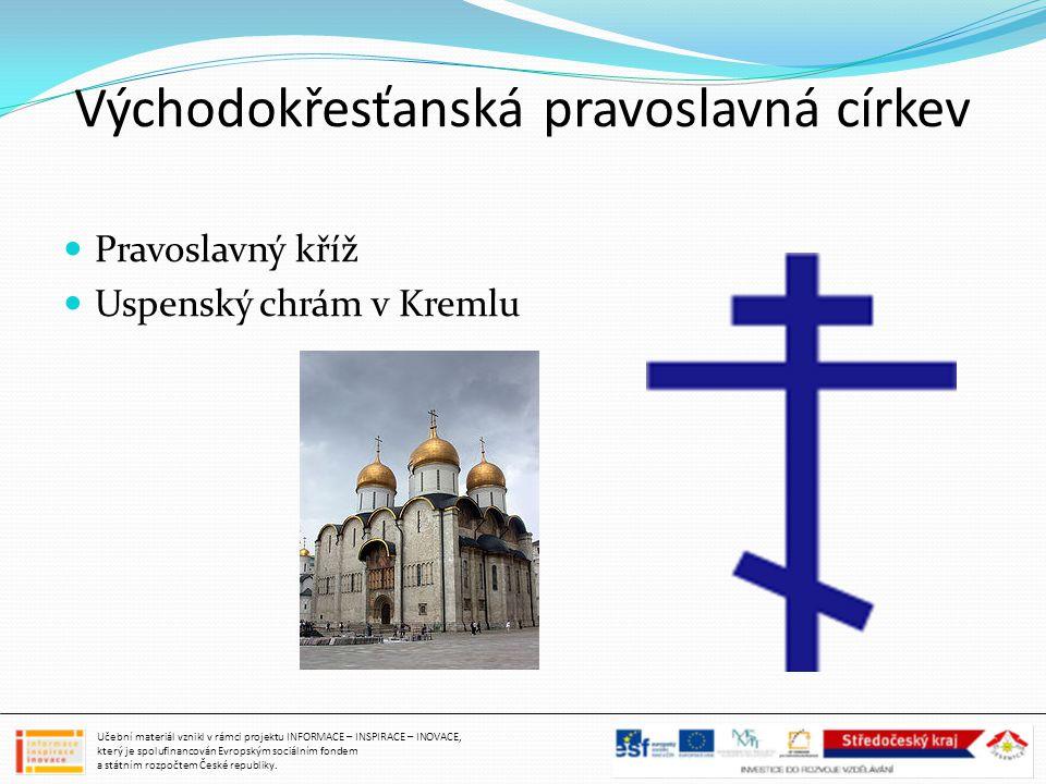 Východokřesťanská pravoslavná církev