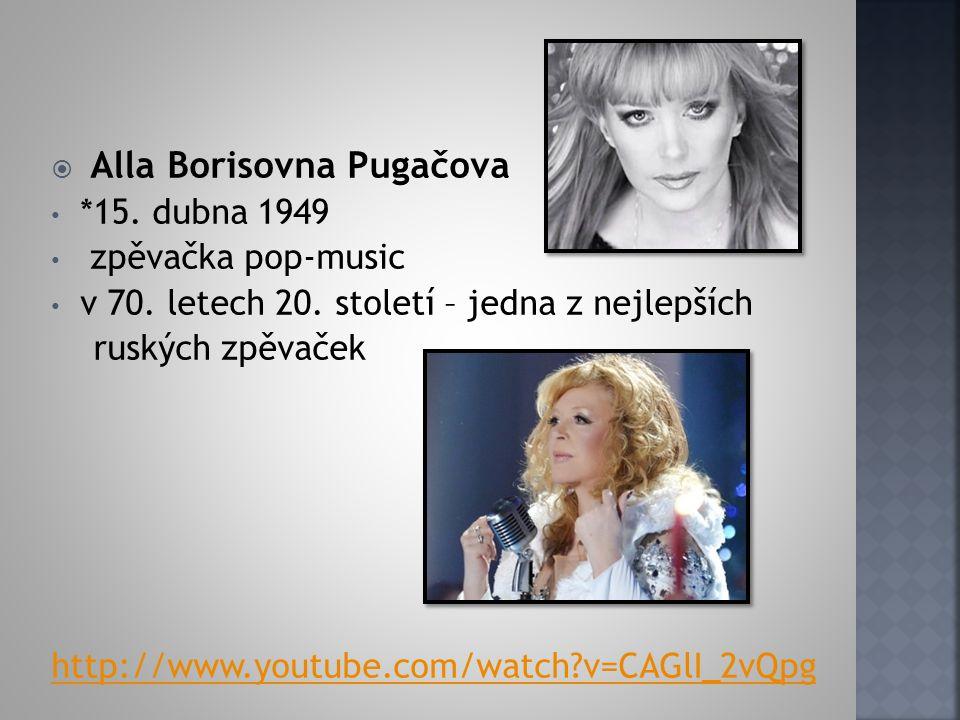 Alla Borisovna Pugačova