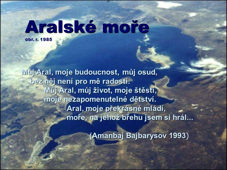 Aralské moře obr. r. 1985