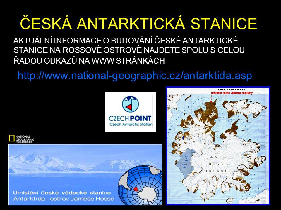 ČESKÁ ANTARKTICKÁ STANICE