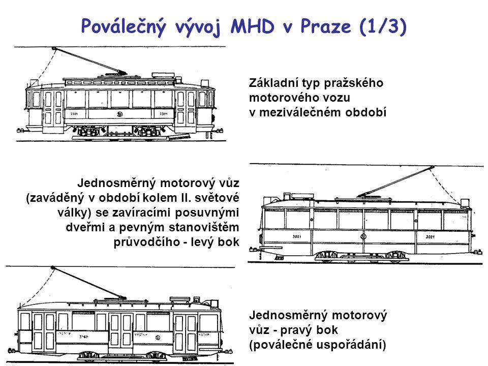 Poválečný vývoj MHD v Praze (1/3)
