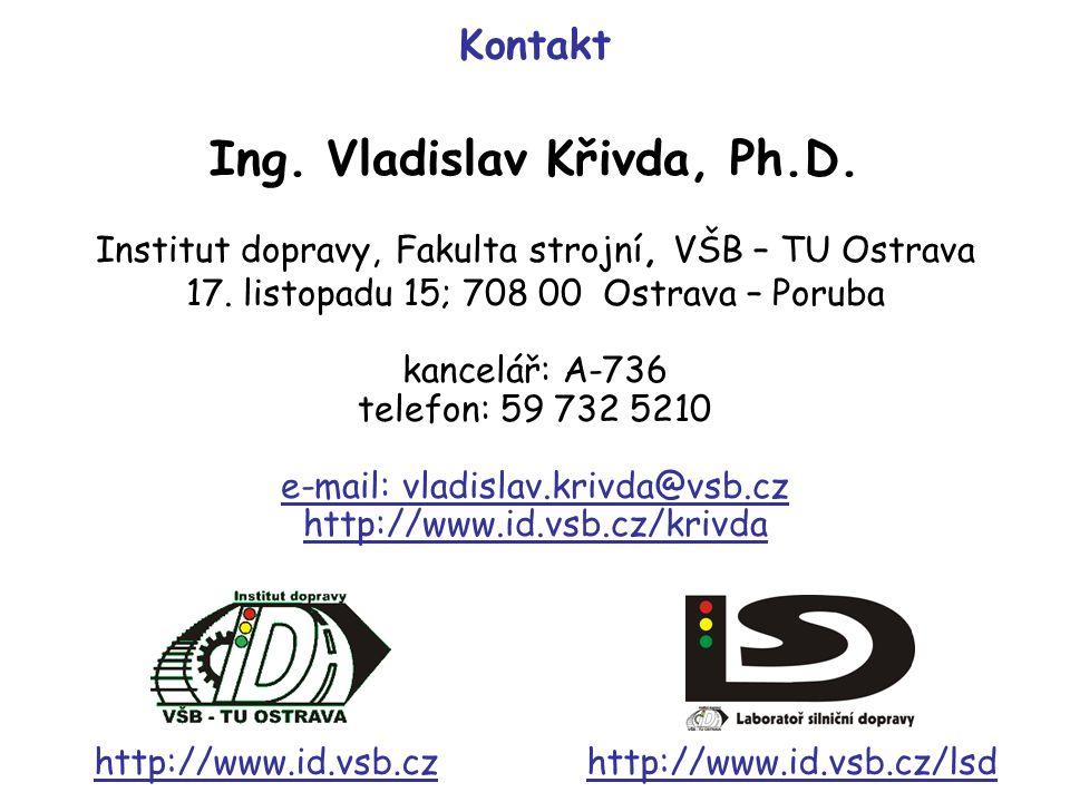 Ing. Vladislav Křivda, Ph.D.