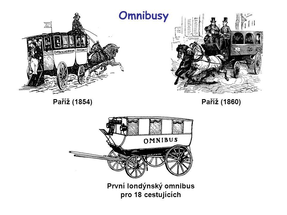 První londýnský omnibus pro 18 cestujících