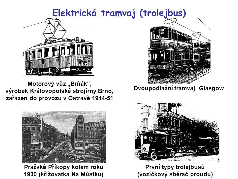 Elektrická tramvaj (trolejbus)