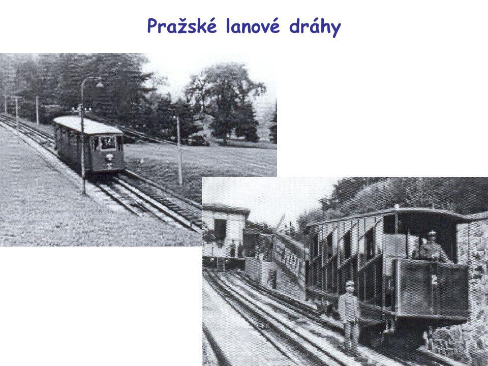 Pražské lanové dráhy