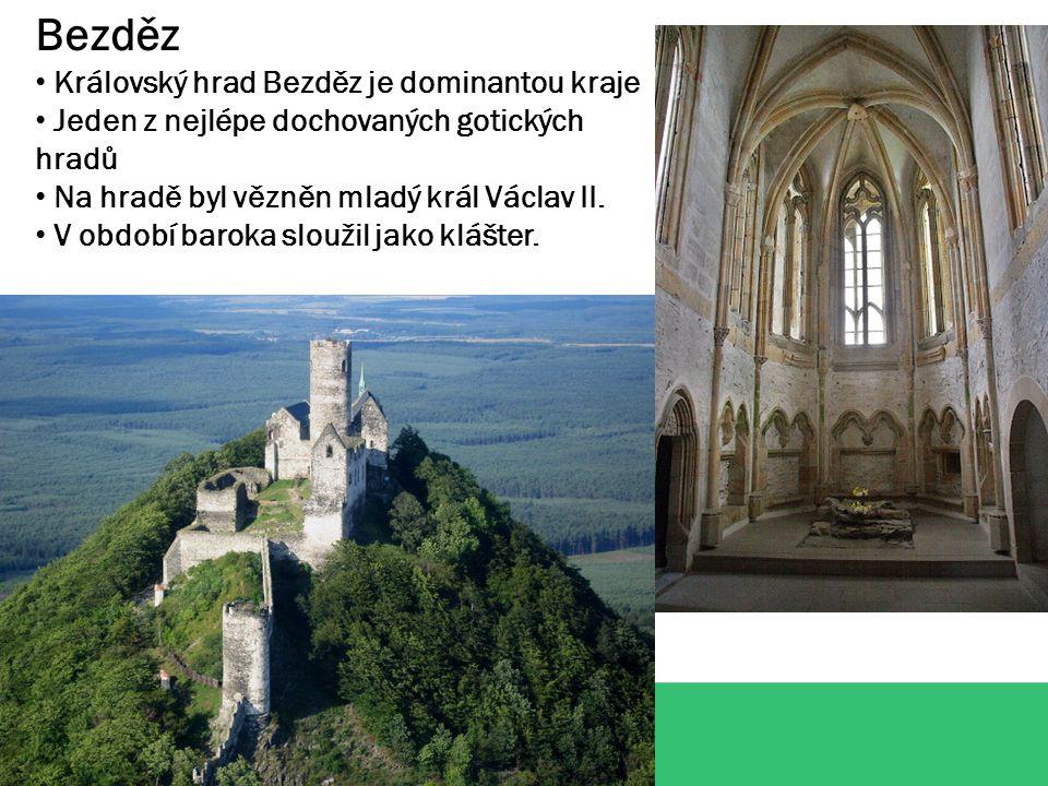 Bezděz Královský hrad Bezděz je dominantou kraje