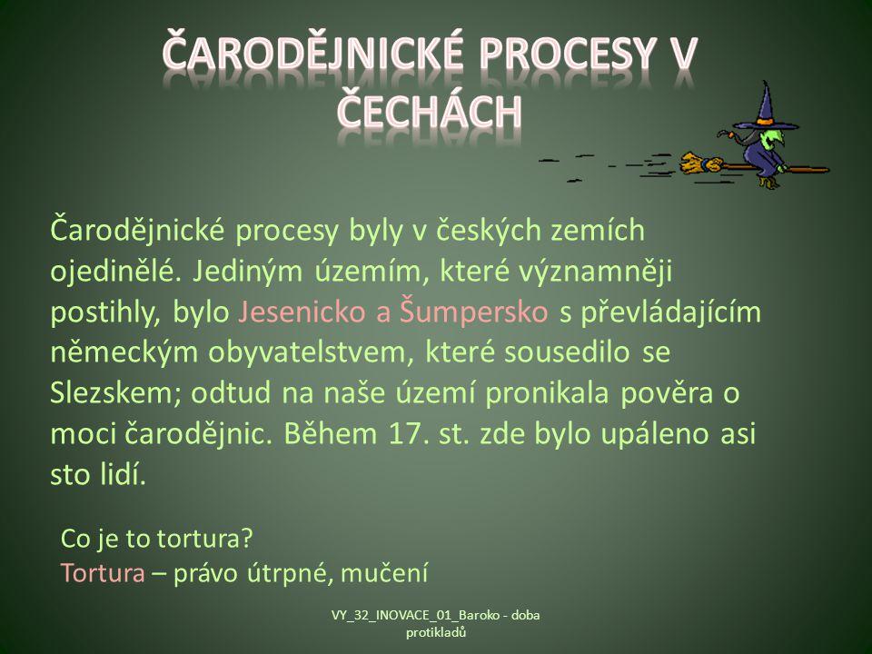 Čarodějnické procesy v Čechách