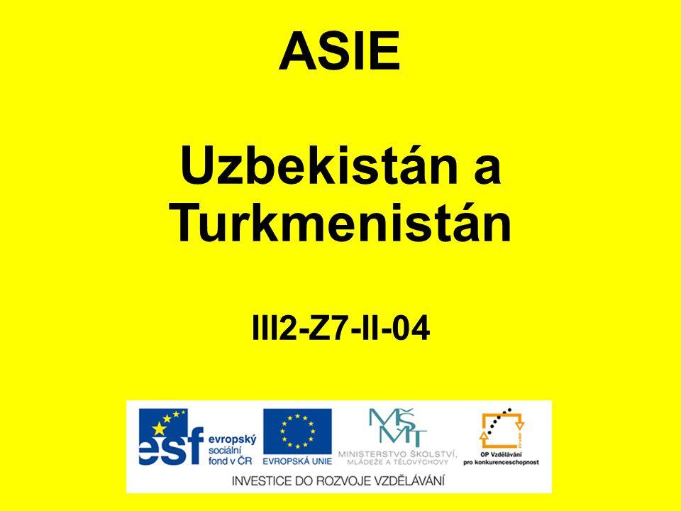 Uzbekistán a Turkmenistán