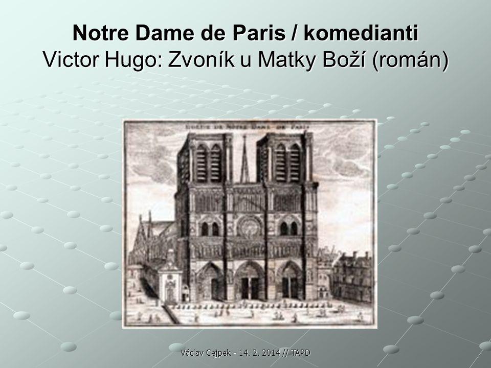Notre Dame de Paris / komedianti Victor Hugo: Zvoník u Matky Boží (román)