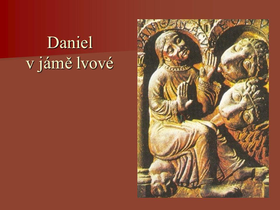 Daniel v jámě lvové