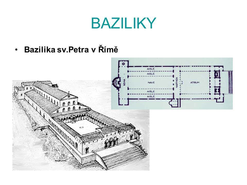 BAZILIKY Bazilika sv.Petra v Římě