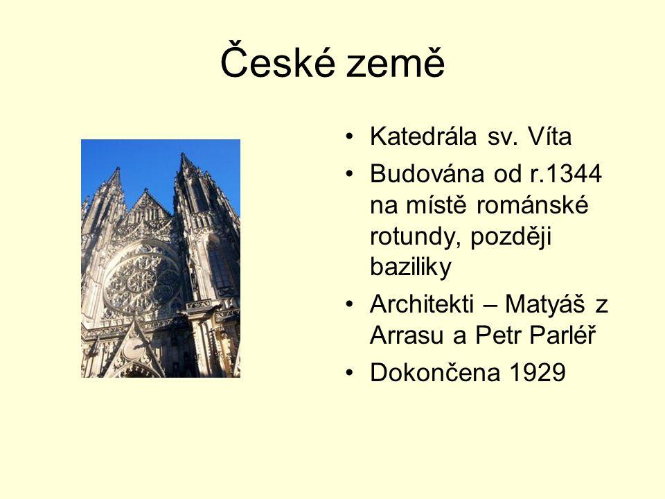 České země Katedrála sv. Víta