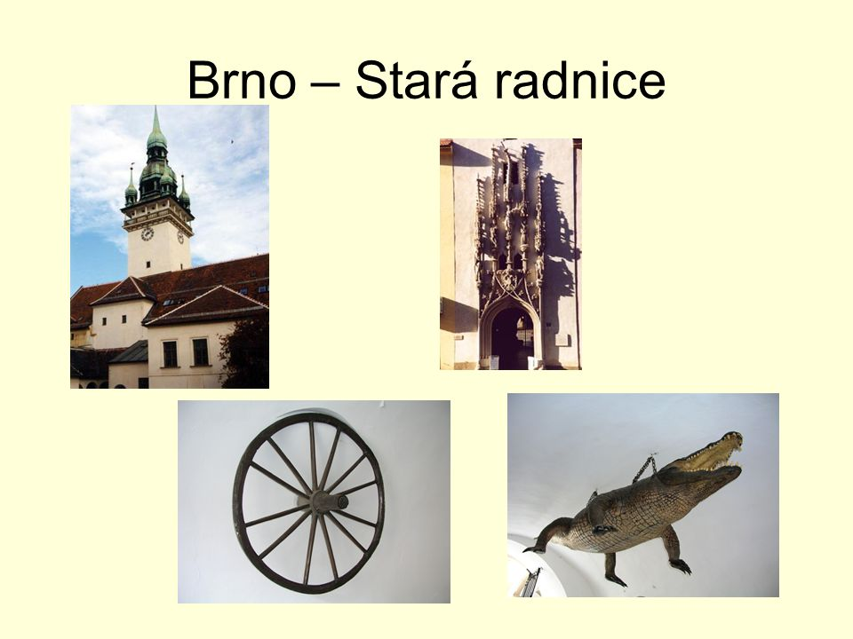 Brno – Stará radnice