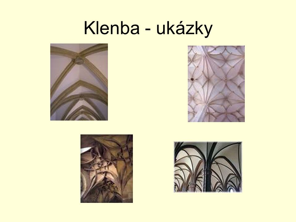 Klenba - ukázky