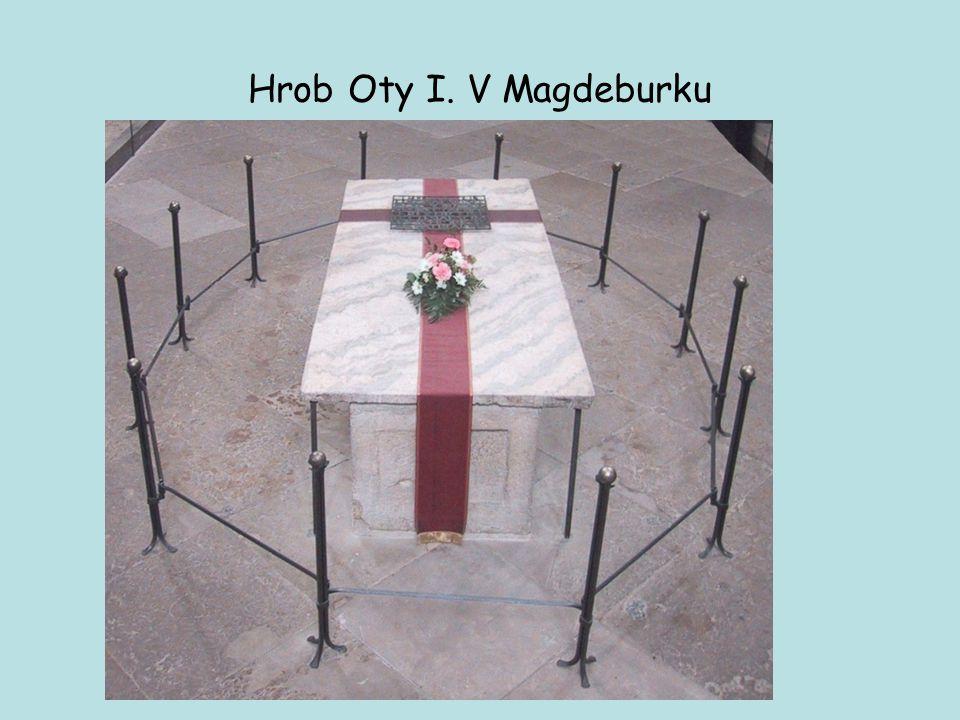 Hrob Oty I. V Magdeburku