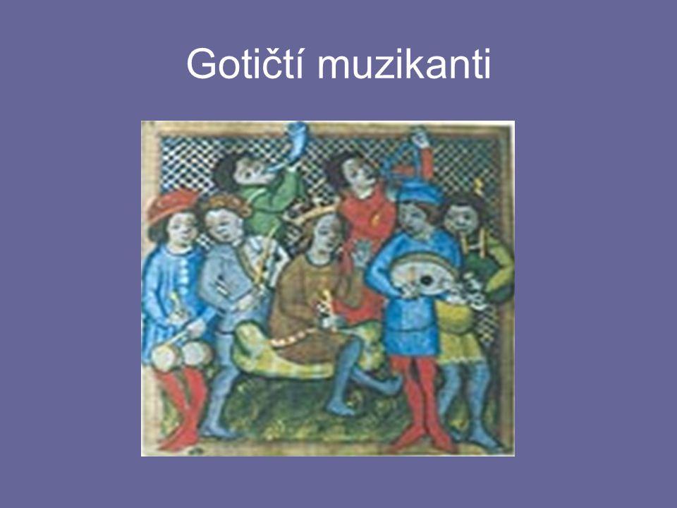 Gotičtí muzikanti