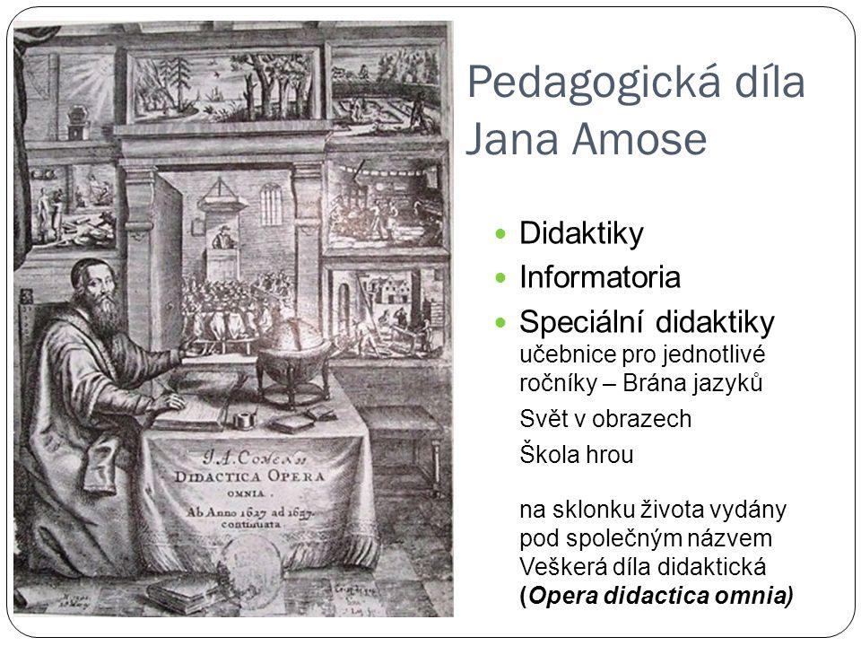 Pedagogická díla Jana Amose