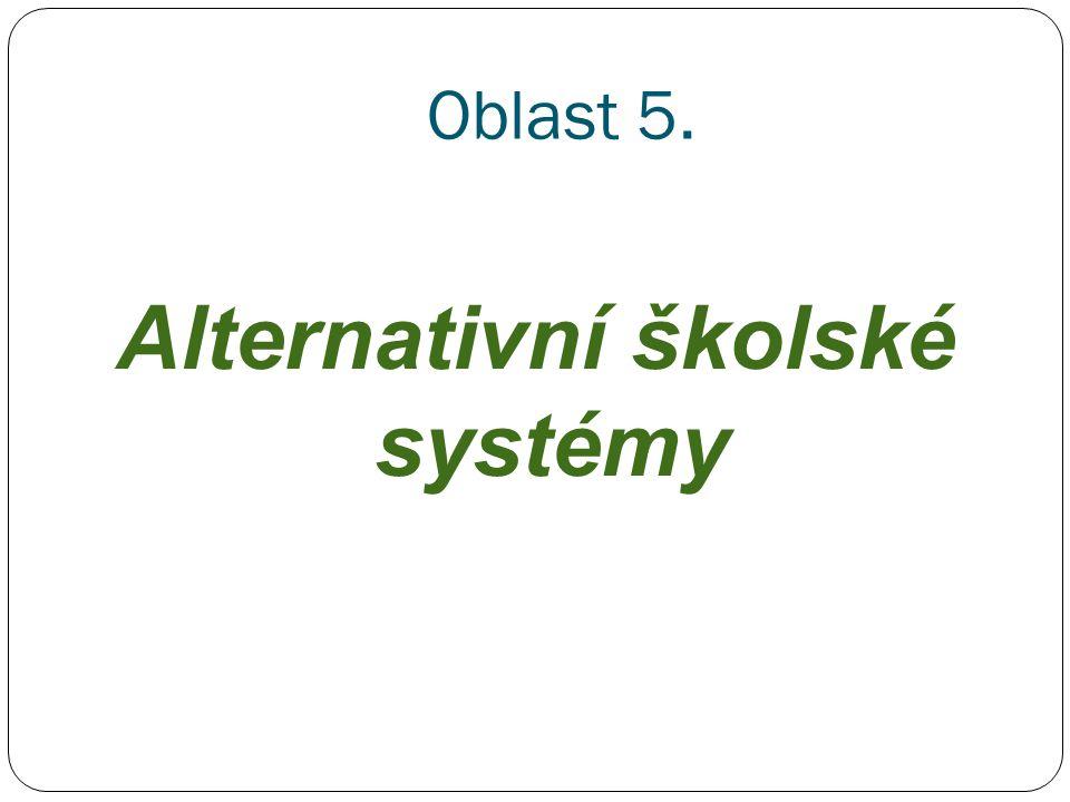 Alternativní školské systémy