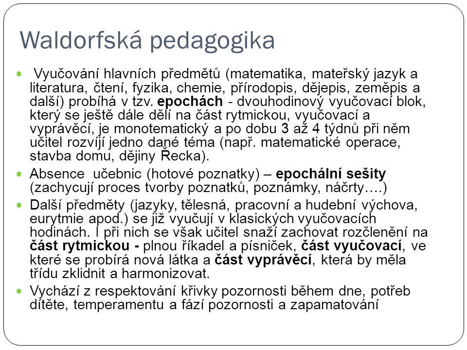 Waldorfská pedagogika