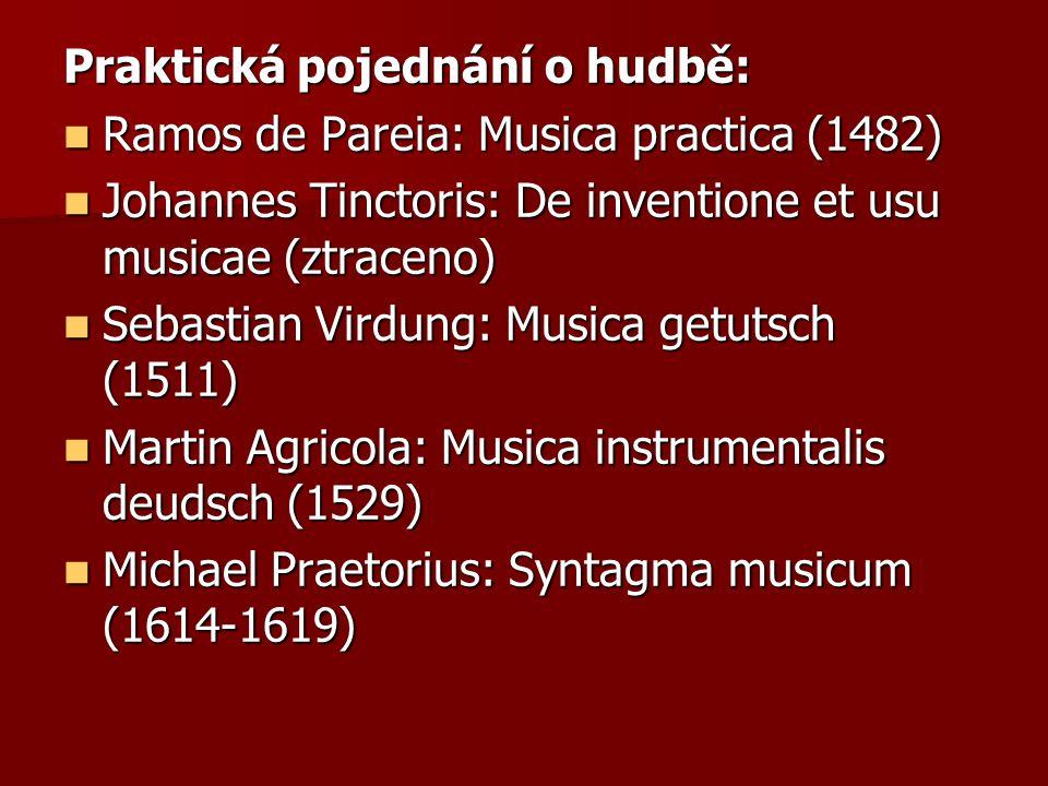 Praktická pojednání o hudbě: