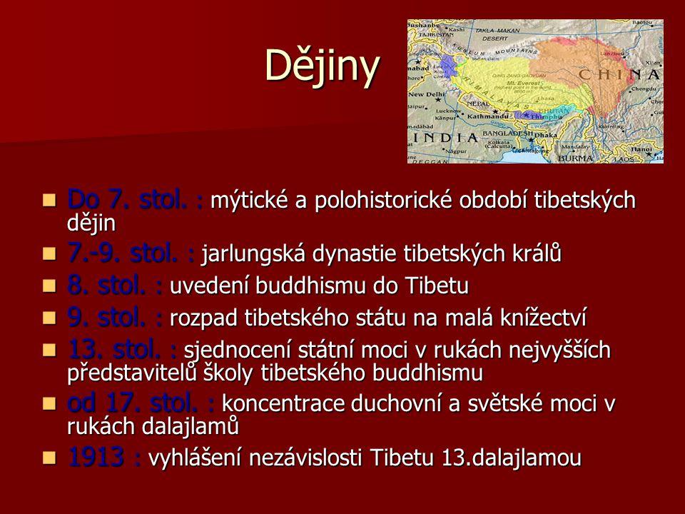 Dějiny Do 7. stol. : mýtické a polohistorické období tibetských dějin