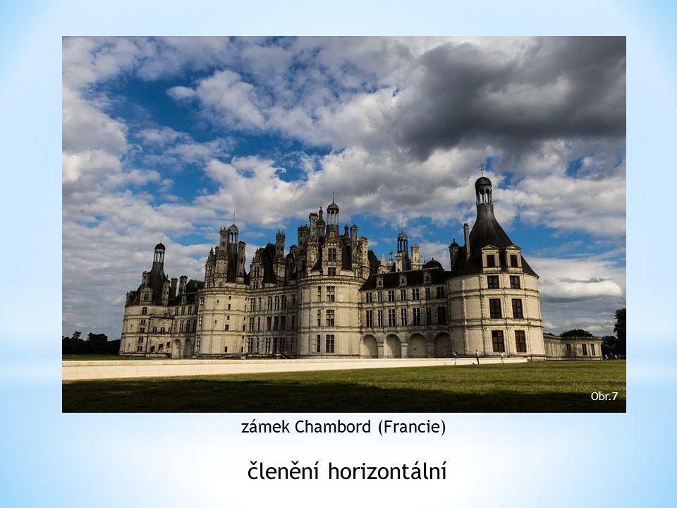 zámek Chambord (Francie)