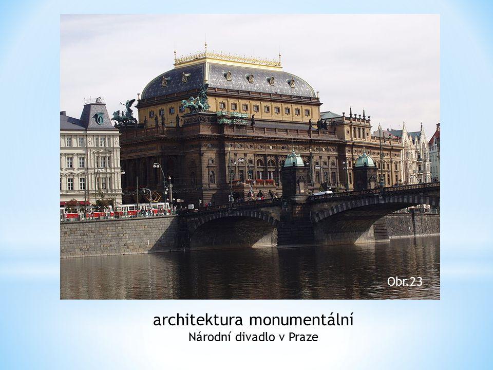 architektura monumentální