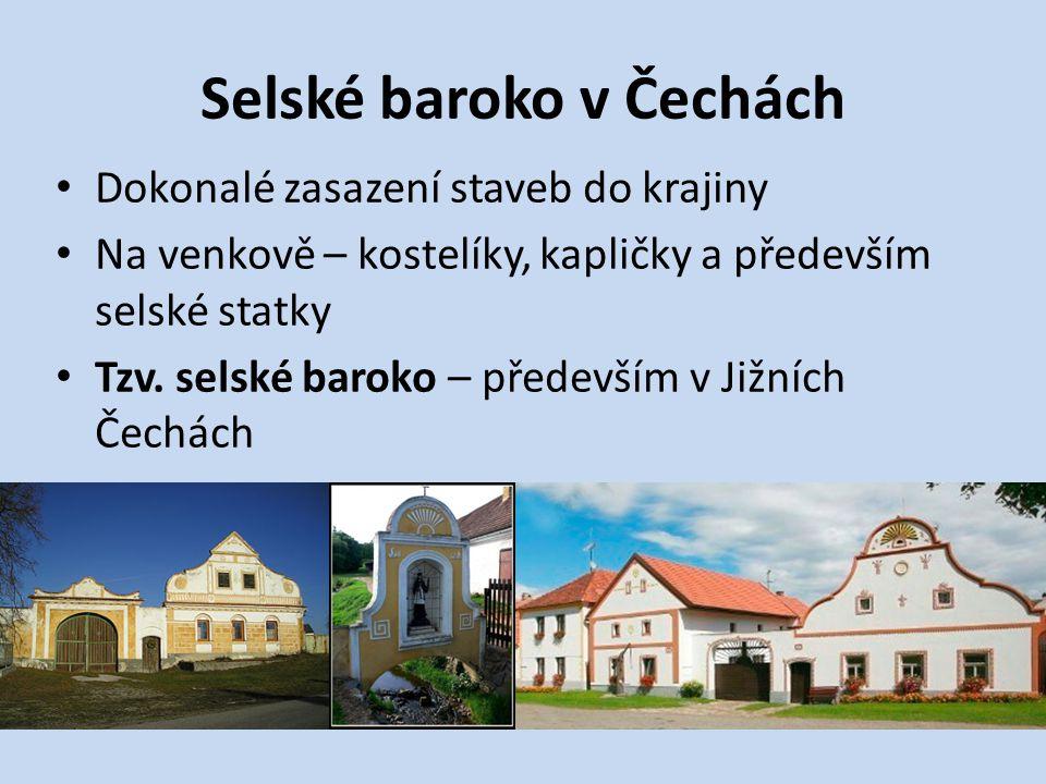 Selské baroko v Čechách