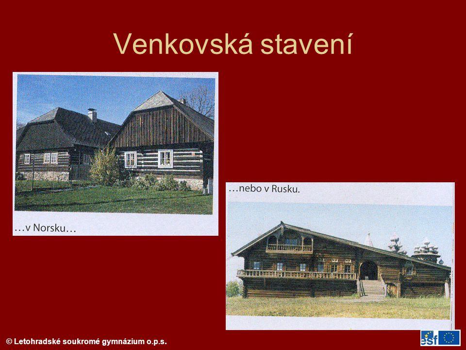 Venkovská stavení