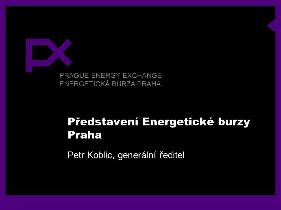 Představení Energetické burzy Praha