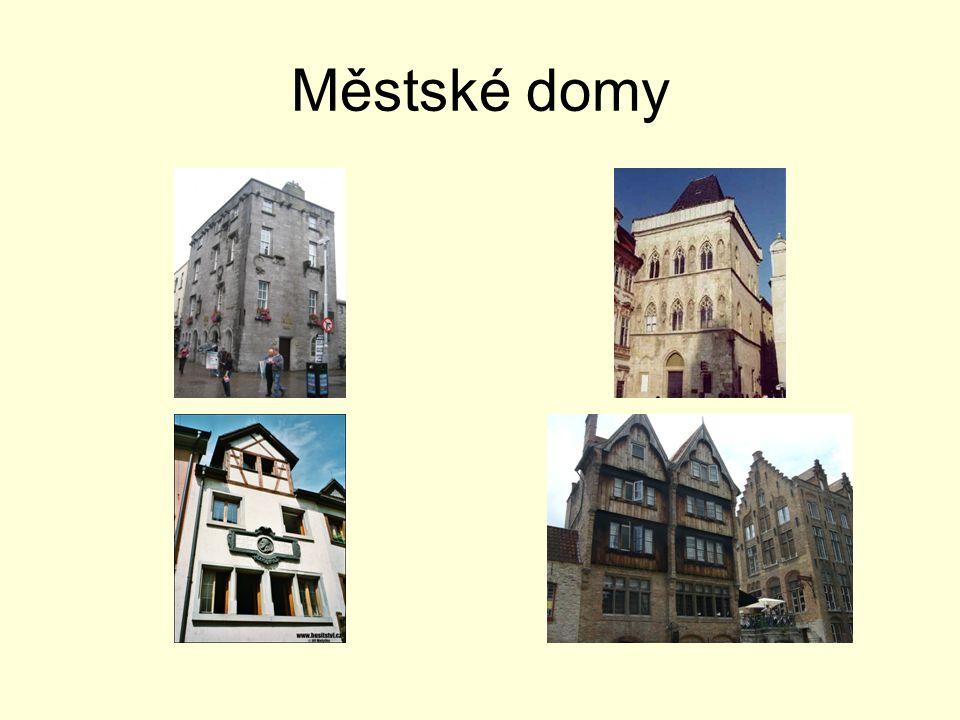Městské domy