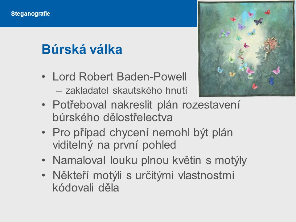 Búrská válka Lord Robert Baden-Powell