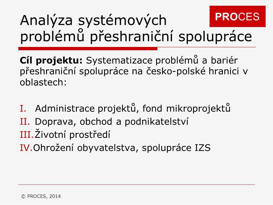 Analýza systémových problémů přeshraniční spolupráce