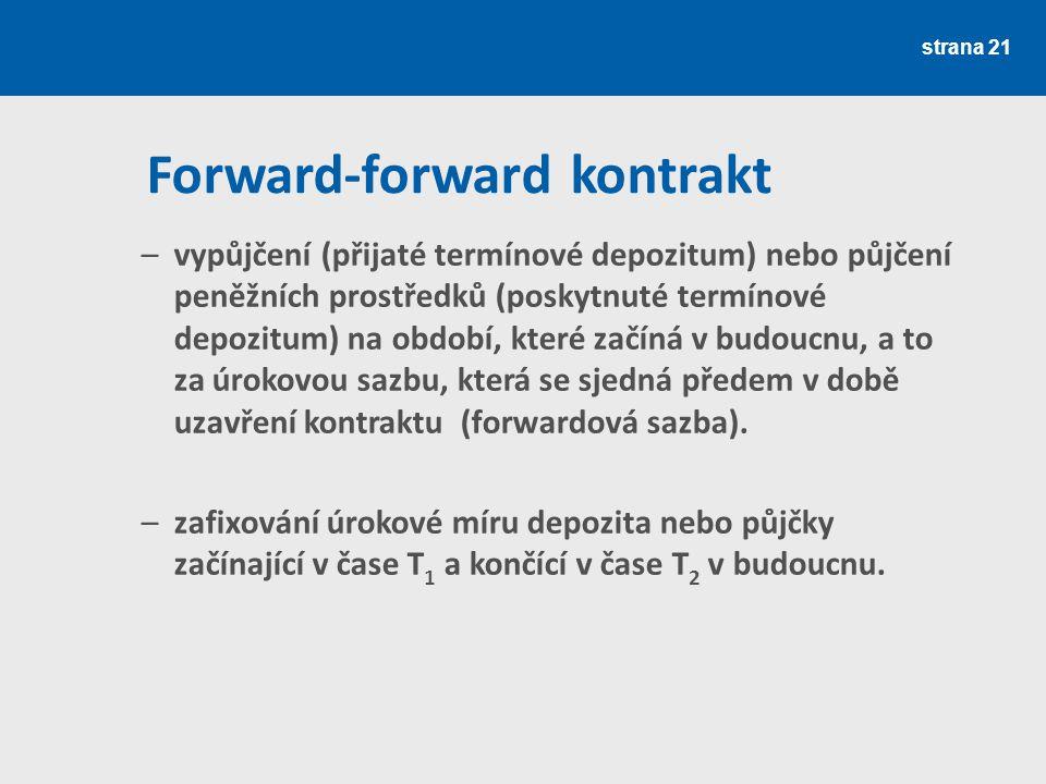 Forward-forward kontrakt
