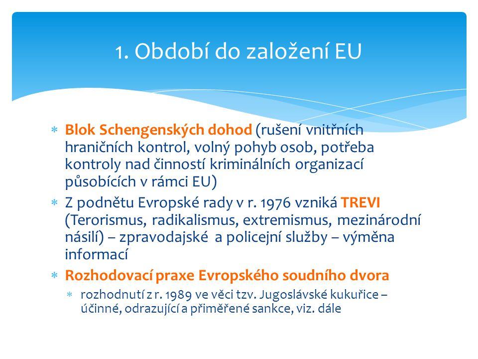 1. Období do založení EU