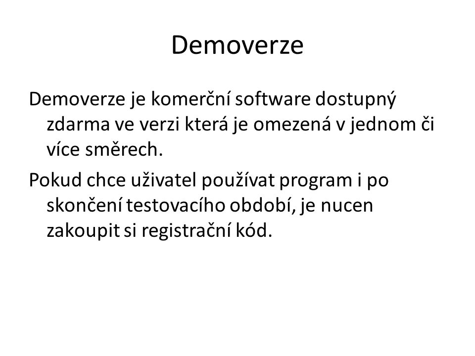 Demoverze