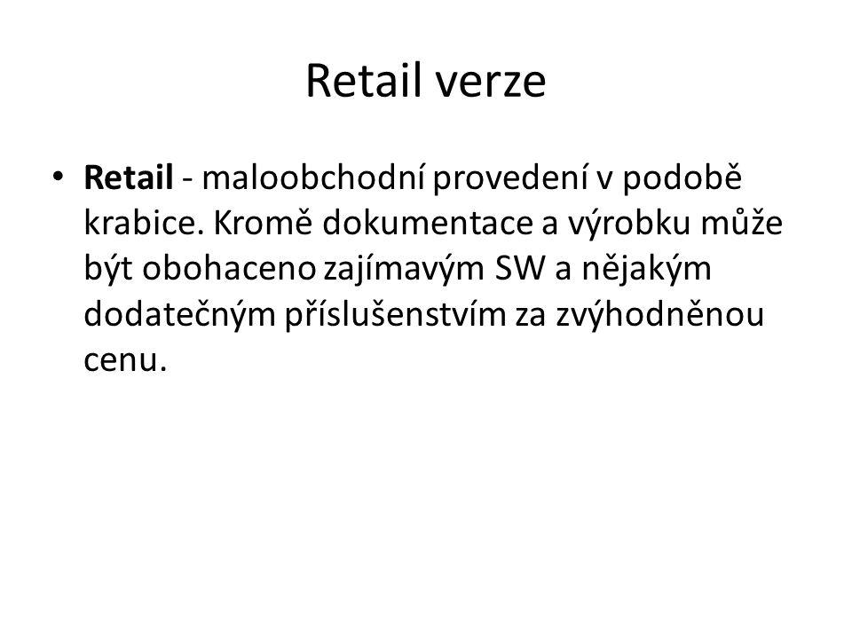 Retail verze