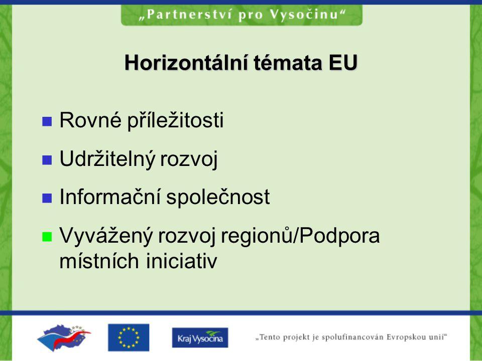 Horizontální témata EU