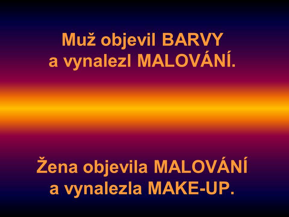 Muž objevil BARVY a vynalezl MALOVÁNÍ