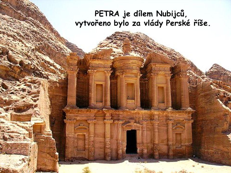 vytvořeno bylo za vlády Perské říše.