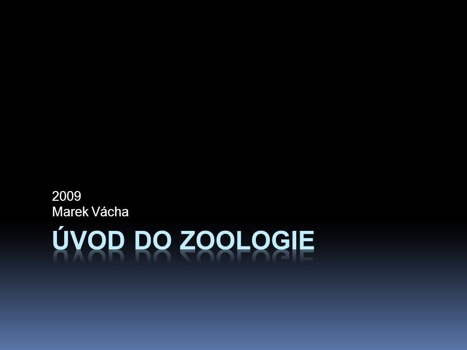 2009 Marek Vácha Úvod do zoologie