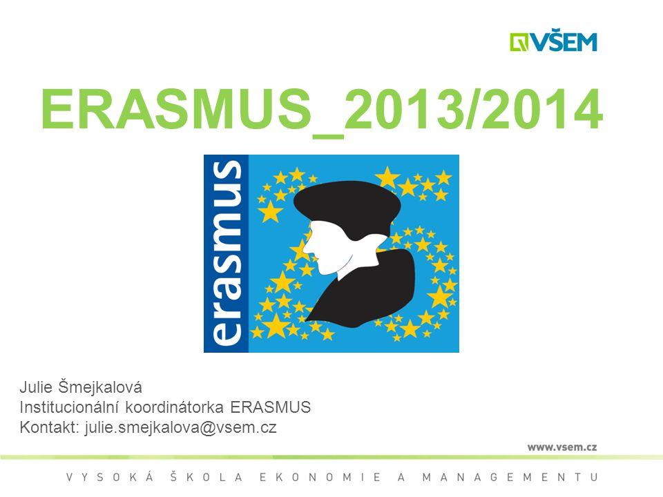 ERASMUS_2013/2014 Julie Šmejkalová