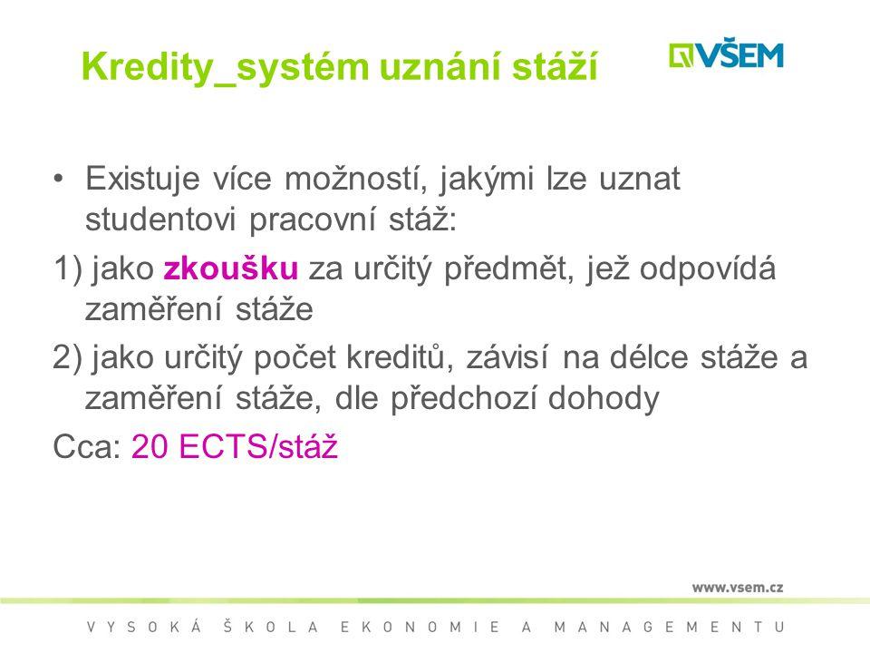 Kredity_systém uznání stáží