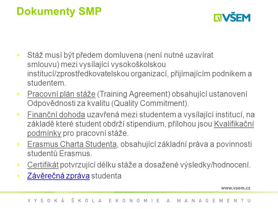 Dokumenty SMP