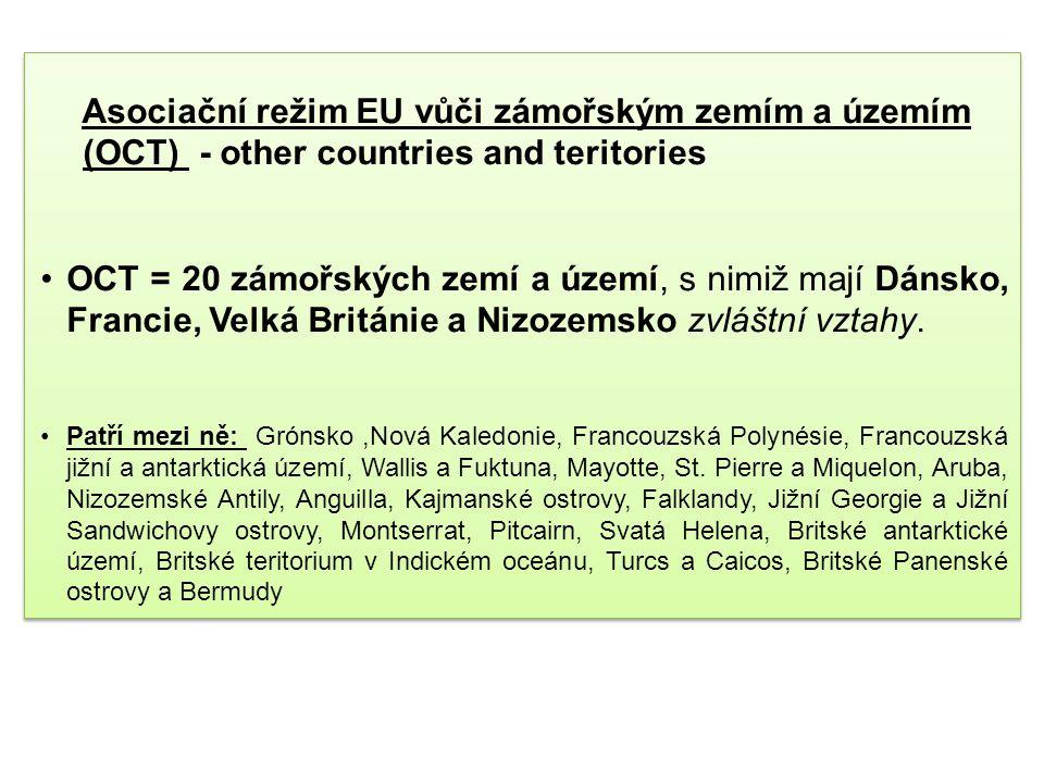 Asociační režim EU vůči zámořským zemím a územím